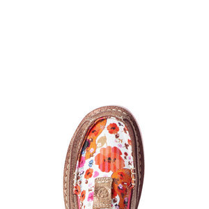 10035827 Ladies Ariat Cruiser Copper Metallic Floral Guitar