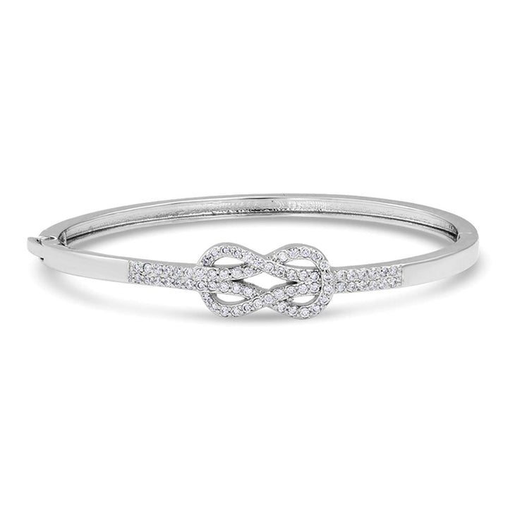 BC4296 Starlight Infinity Knot Bangle