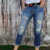 10023492 Ariat Ladies Boyfriend Reform Babylon Jeans