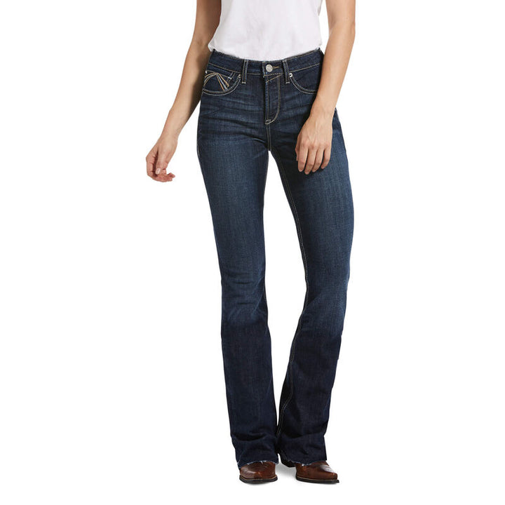 10033489 Ariat Ladies REAL High Rise Flare Avalynn Rascal