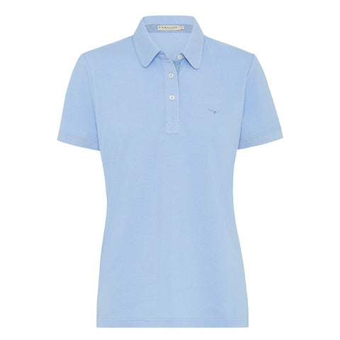 Ladies Foal Polo Soft Blue - KP810PQL201 - R.M. Williams