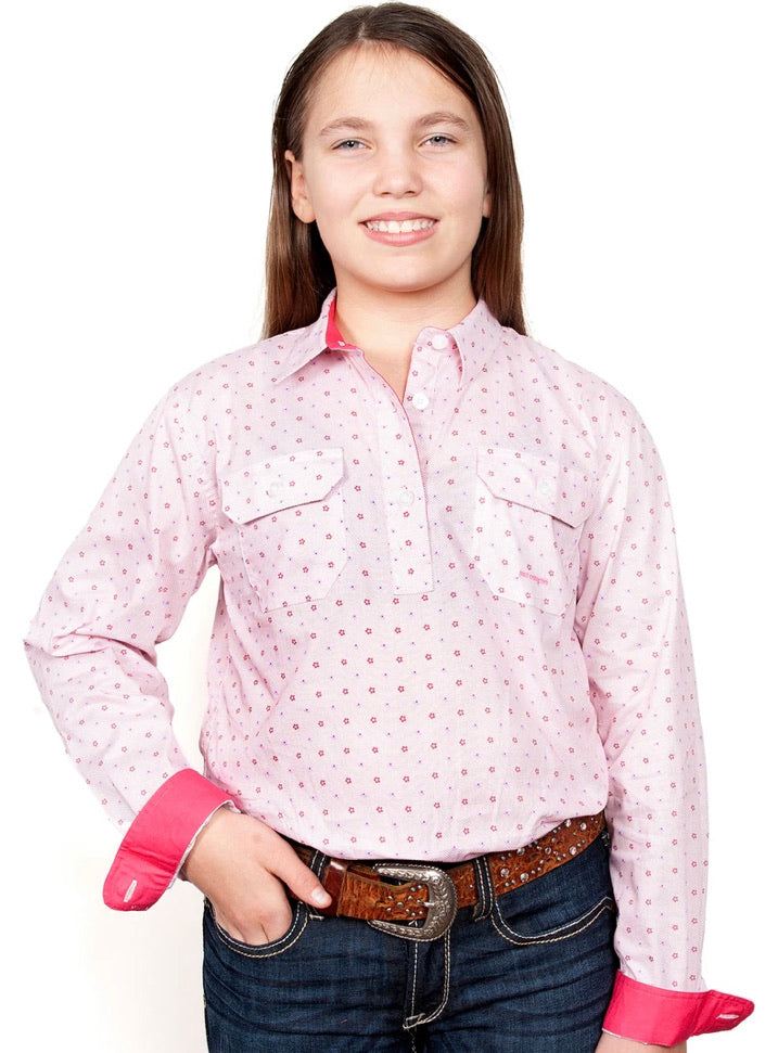 WWLS2037 LADIES GEORGIE SHIRT JUST COUNTRY