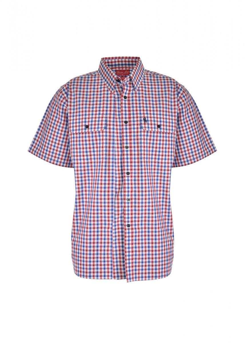 T0S1110111 MENS BARRET 2 POCKET S/S SHIRT
