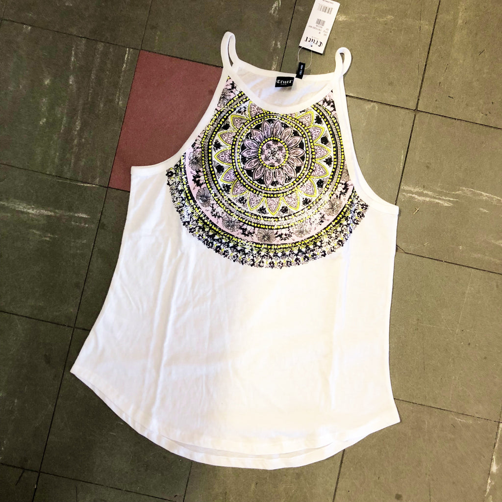 CTK7153001WHT Ladies Cruel Girl Singlet