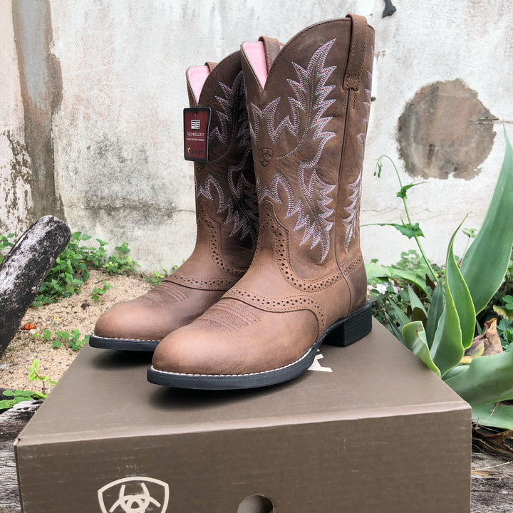 10001605 Ladies Heritage Stockman Boots
