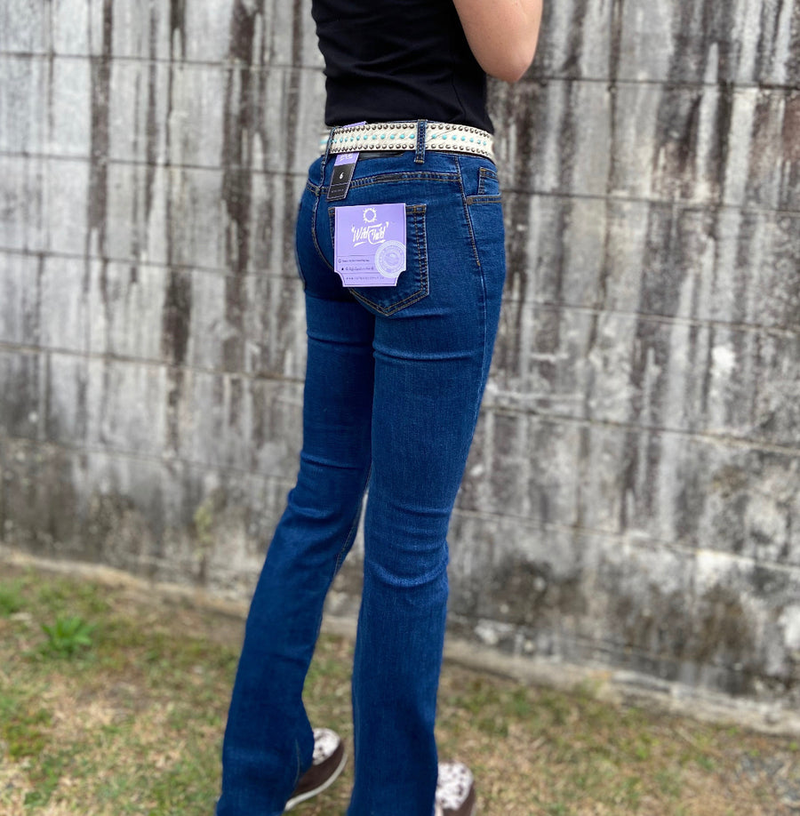 OBWFIL2.0 Ladies Mid Wash Basic Filly Jean