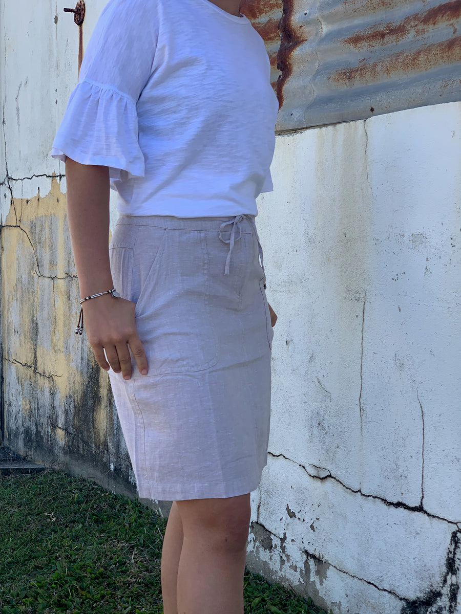 5144-55 Goondiwindi Ladies Linen Skirt