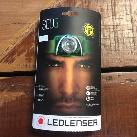 SEO3 LED LENSER Headlamp