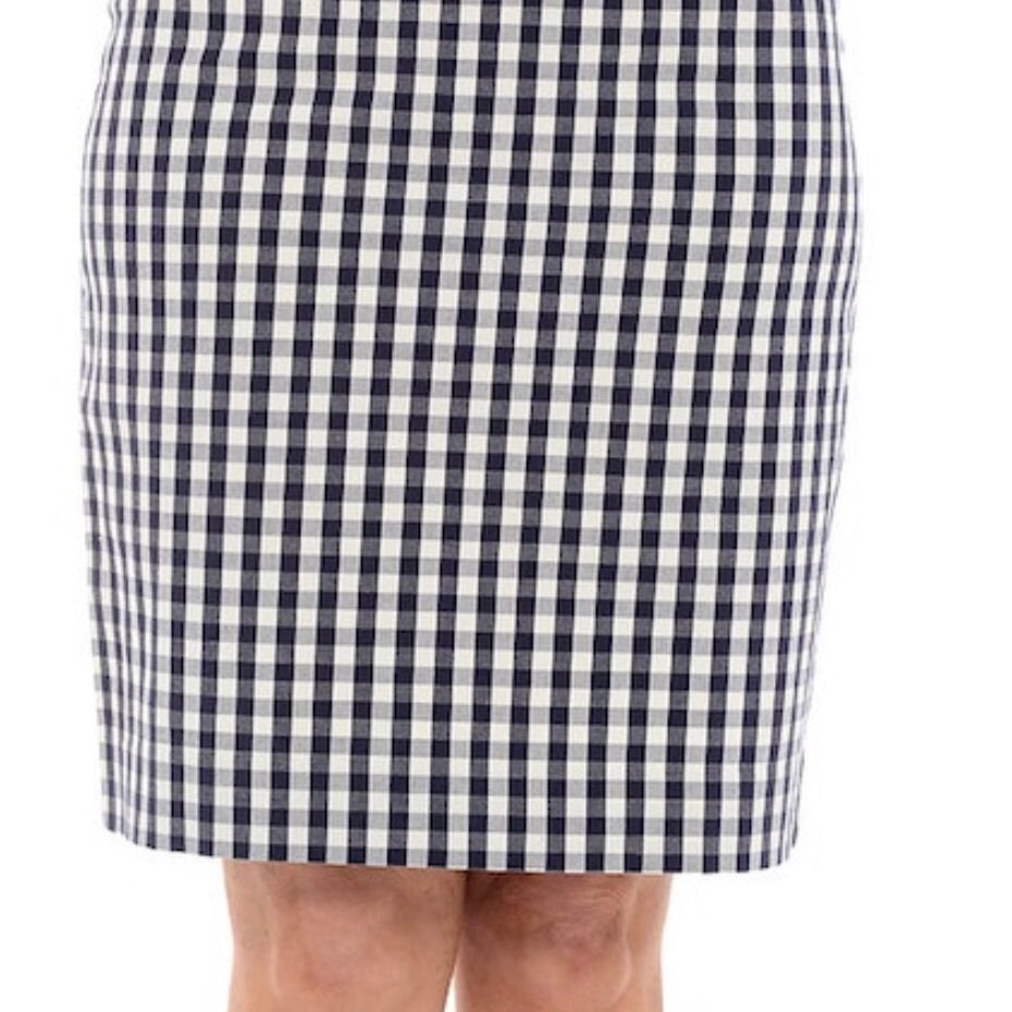 5125-1 - Navy & White Skirt - Goondiwindi
