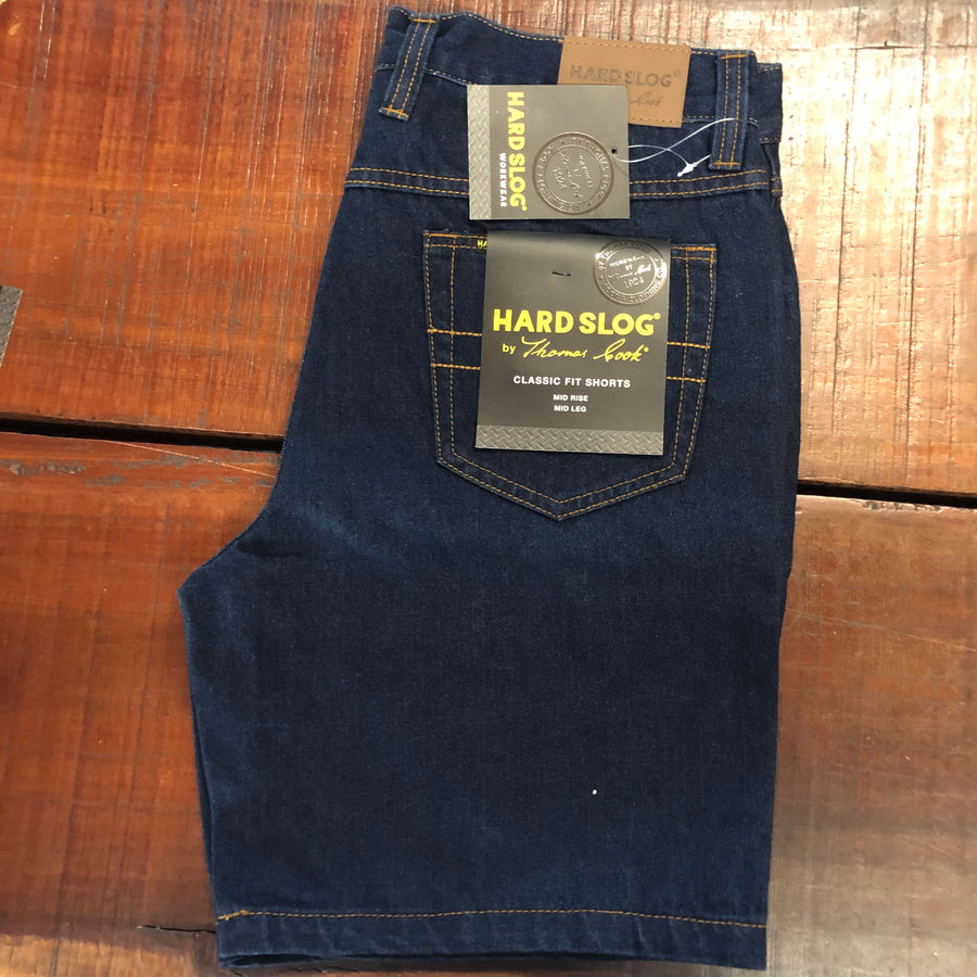 "HCP1303101 Thomas CookMens Denim Shorts 8"" Leg"