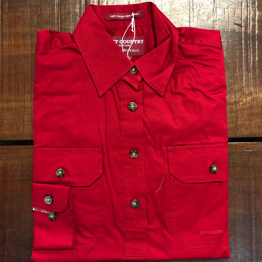 50505CHI Jahna Workshirt Chilli