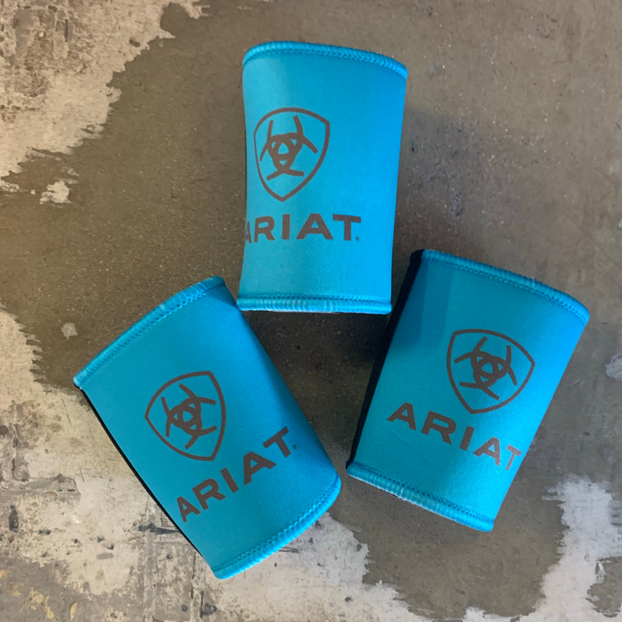 Ariat Stubby Cooler - Turquoise