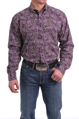 MTW1104991 MENS LONG SLEEVED CINCH SHIRT