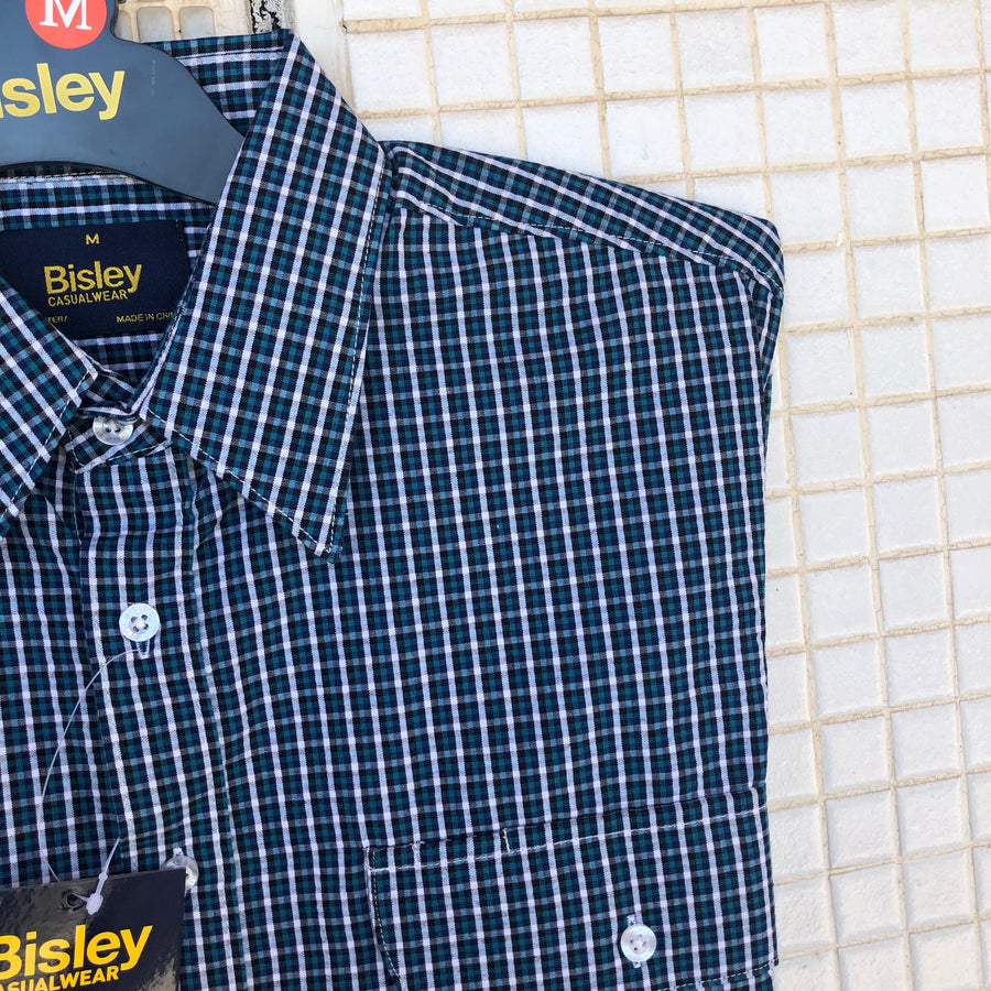 BS2862_CMVB Bisley Shirt - Navy cotton