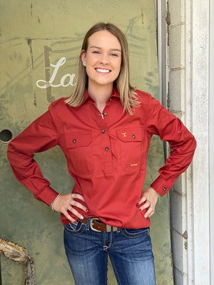 50505RST WOMENS JAHNA WORKSHIRT JUST COUNTRY