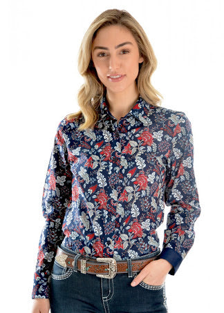 X0W2126437 - Wrangler Long Sleeve Ladies Macy Shirt