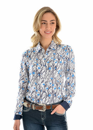 X0W2126435 - Wrangler Long Sleeve Ladies Anna Shirt