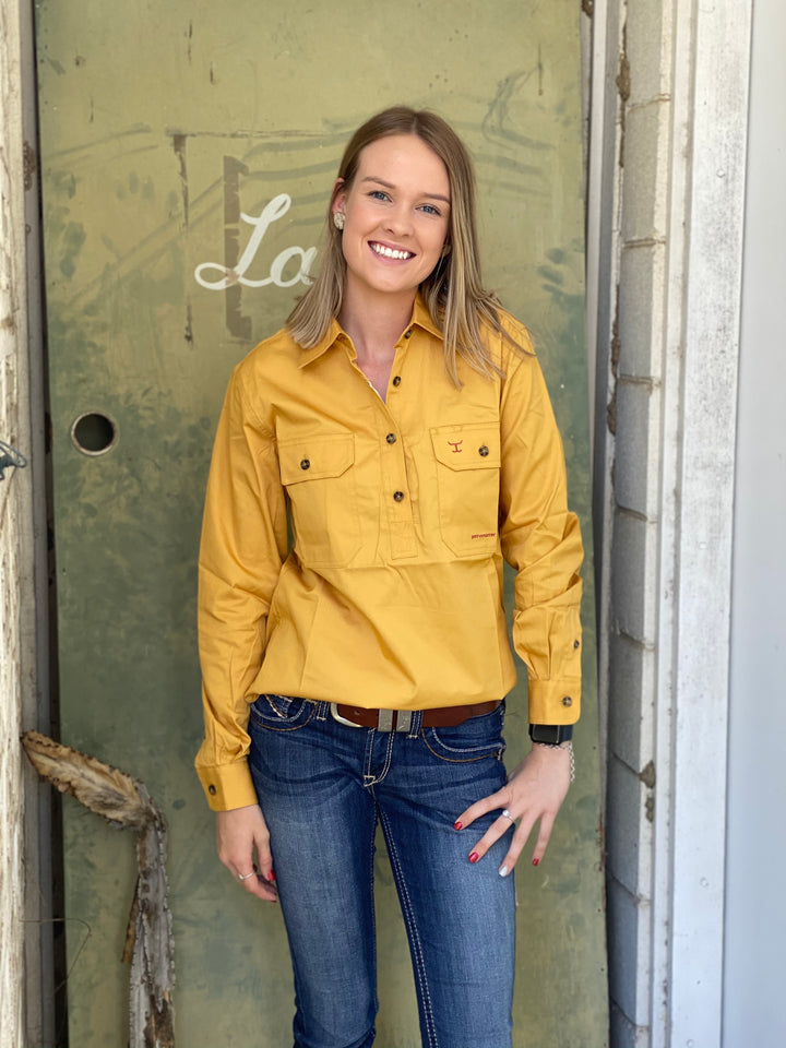 50505MUS WOMENS JAHNA WORKSHIRT JUST COUNTRY