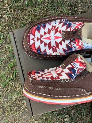 10029746 Ariat Cruiser Burgundy Aztec