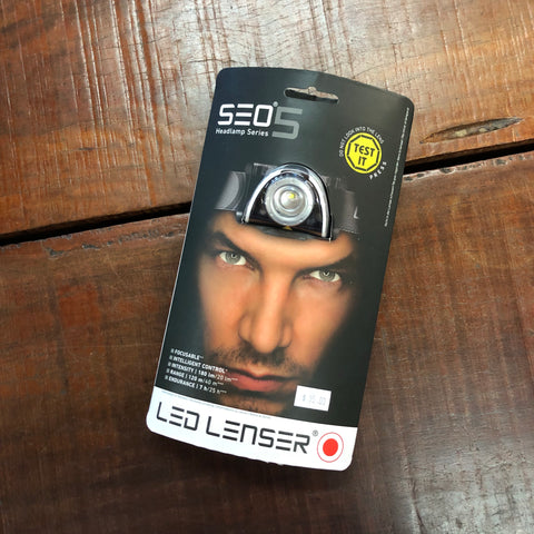 SEO5 LED LENSER Headlamp