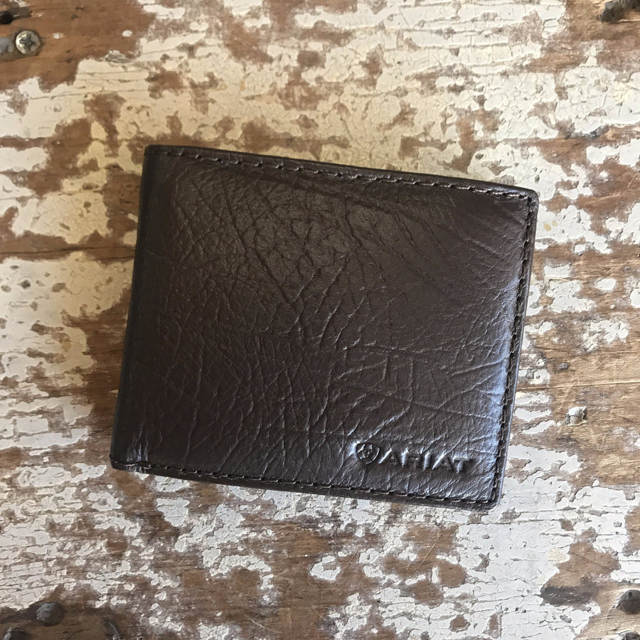 Bi-Fold Chocolate Wallet - Ariat - WLT2107A