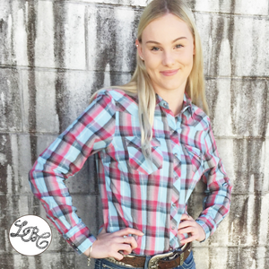 03-050-0062-4022 Ladies Roper West Made Shirt
