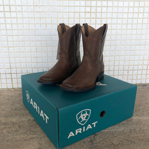 10026161 Ariat Kids Heritage Roper Wide Square Toe