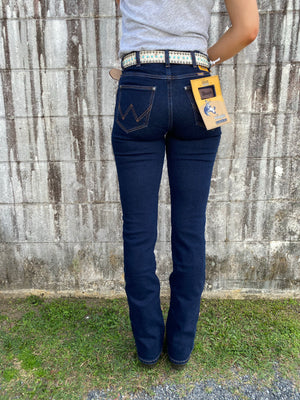 "W/091040/OR5 Ladies 34"" Wrangler Stretch Bootcut Jean"