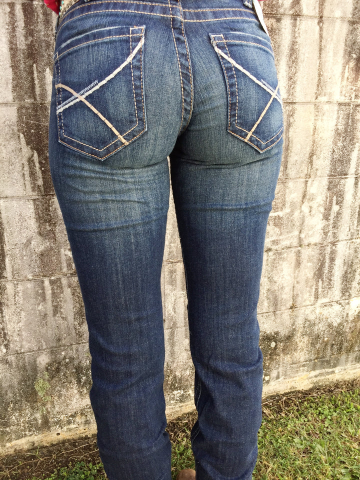 10030247 F20 ARIAT WOMENS R.E.A.L STRAIGHT JEANS