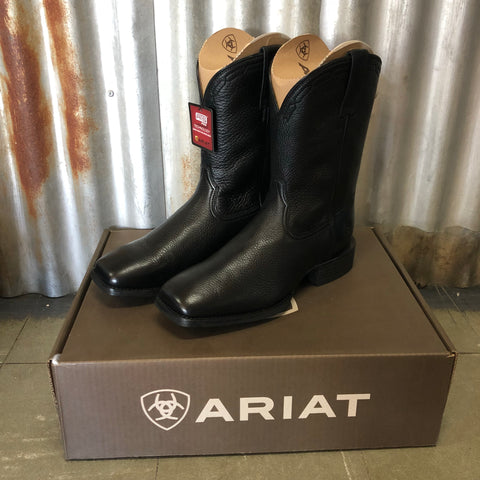 10015291 Ariat Mens Heritage Roper Wide Square Toe