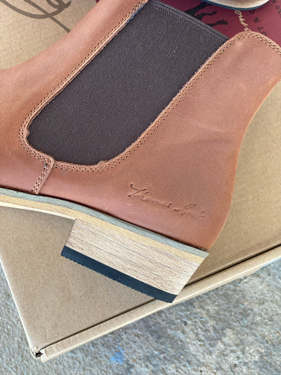 TCP28319 THOMAS COOK Tan CHELSEA BOOT