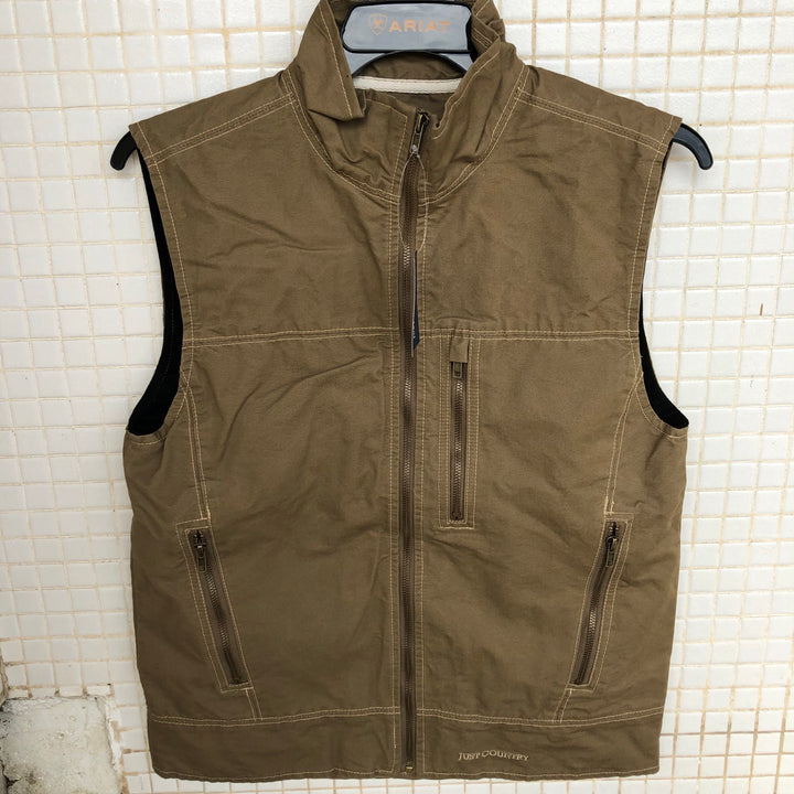MCOV1914 Just Country Mens Joshua Vest