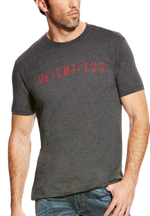 10020570 - Relentless Stencil Logo Tee - Ariat