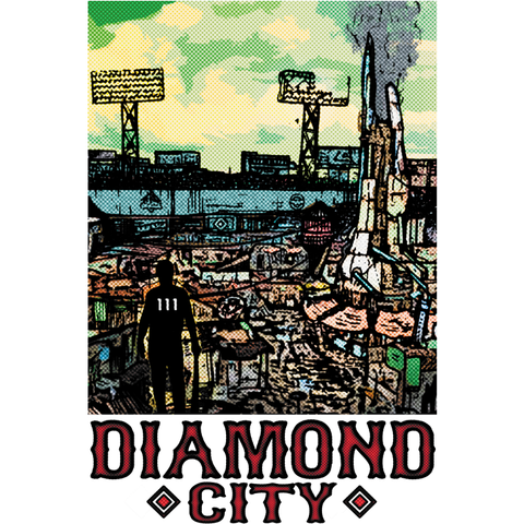 "Diamond City (Portrait) 13""x19"" Poster"