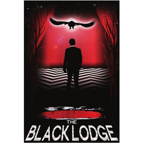 "Black Lodge 13""x19"" Poster"