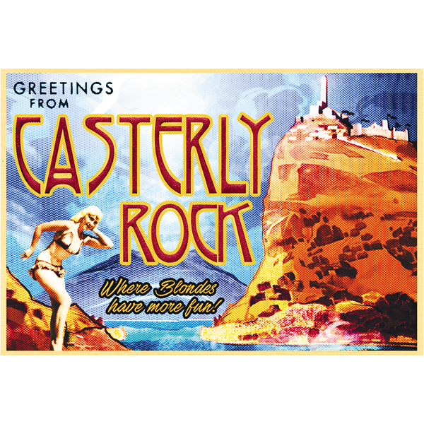"Greetings from Casterly Rock 19""x13"" Poster"