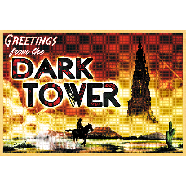 "Greetings from the Dark Tower 19""x13"" Poster"