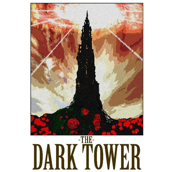 "Dark Tower 13""x19"" Poster"