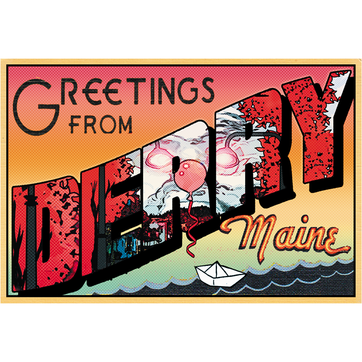 "Greetings from Derry 19""x13"" Poster"