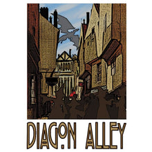 "Diagon Alley 13""x19"" Poster"