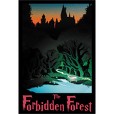 "Forbidden Forest 13""x19"" Poster"