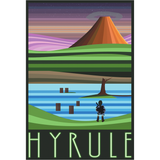 "Hyrule 13""x19"" Poster"