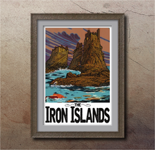 "Iron Islands 13""x19"" Poster"
