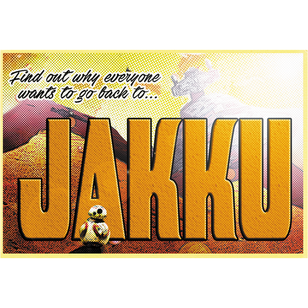 "Greetings from Jakku 19""x13"" Poster"