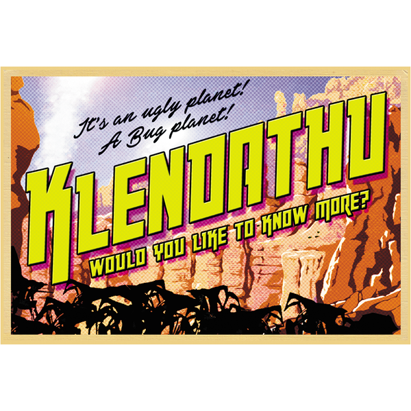 "Greetings from Klendathu 19""x13"" Poster"