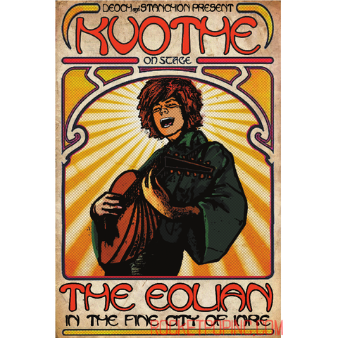 "Kvothe at the Eolian 13""x19"" Gig Poster"