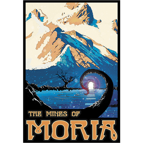 "Mines of Moria 13""x19"" Poster"