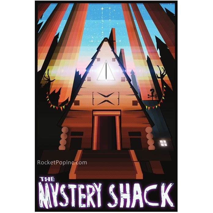 "Mystery Shack 13""x19"" Poster"
