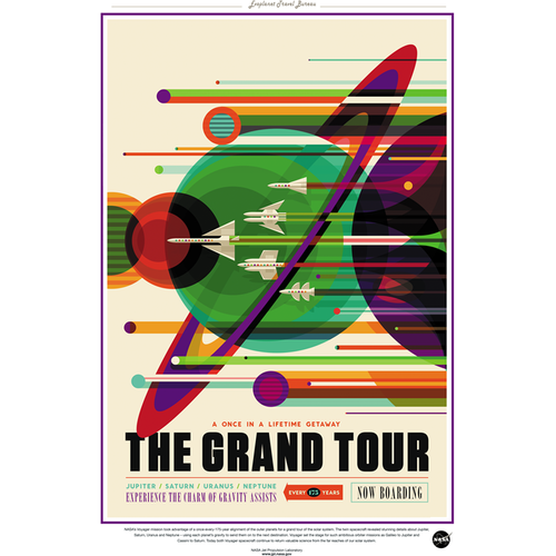 NASA Travel Series - Grand Tour 13