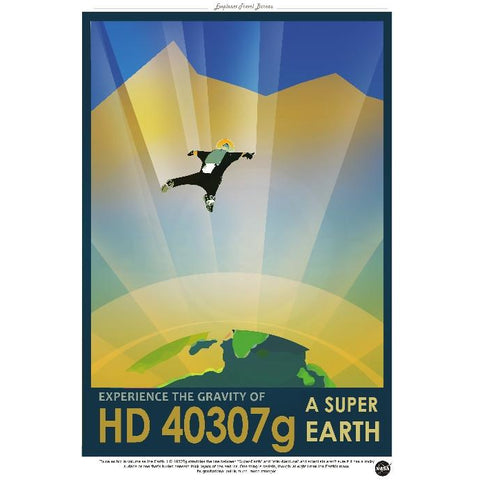 "NASA Travel 1- HD40307g 13""x19"" Poster"